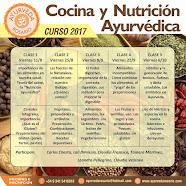 Curso de Cocina y Nutrición Ayurvédica