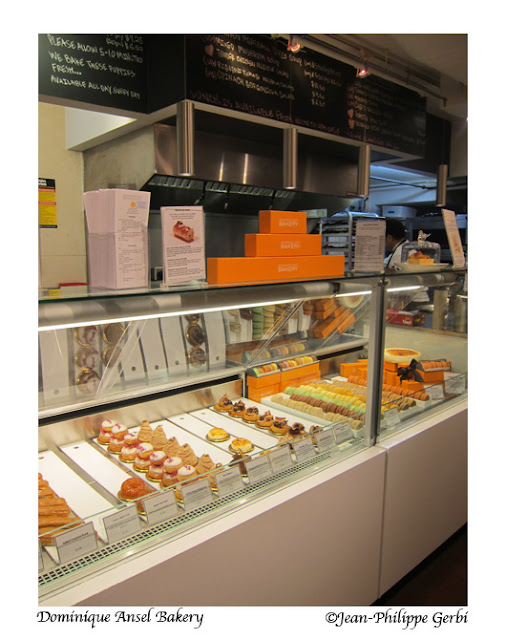 Image of the Inside of Dominique Ansel Bakery in Soho, NYC, New York