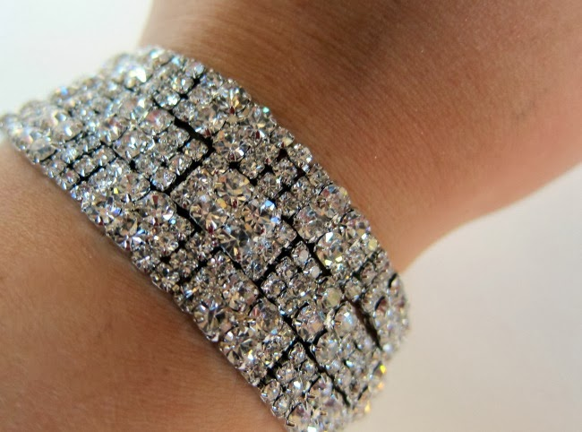 Swarovski crystal bracelet from Jasper Jewellery