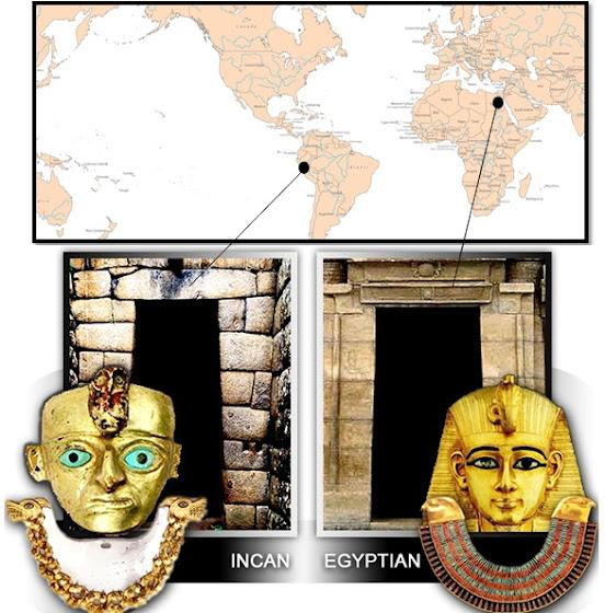 Ομοιότητες Αρχαίων Ίνκας και Αιγύπτιων – Δύο πολιτισμοί που έχουν αναπτυχθεί και εξελιχθεί σε αντίθετες πλευρές του κόσμου