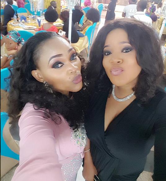 Mercy Aigbe and Toyin Aimakhu