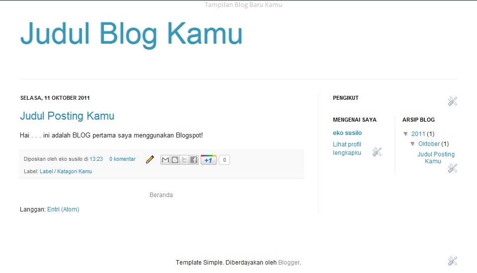 Cara Membuat Blog 13