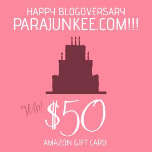 Parajunkee's Blogoversary!