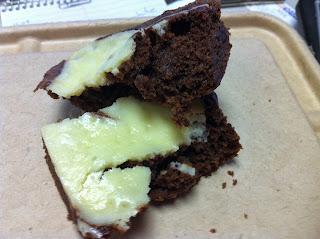 Mom and Eddie's Cheese Cake Swirl Brownie
