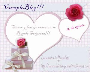 1° cumpleblog