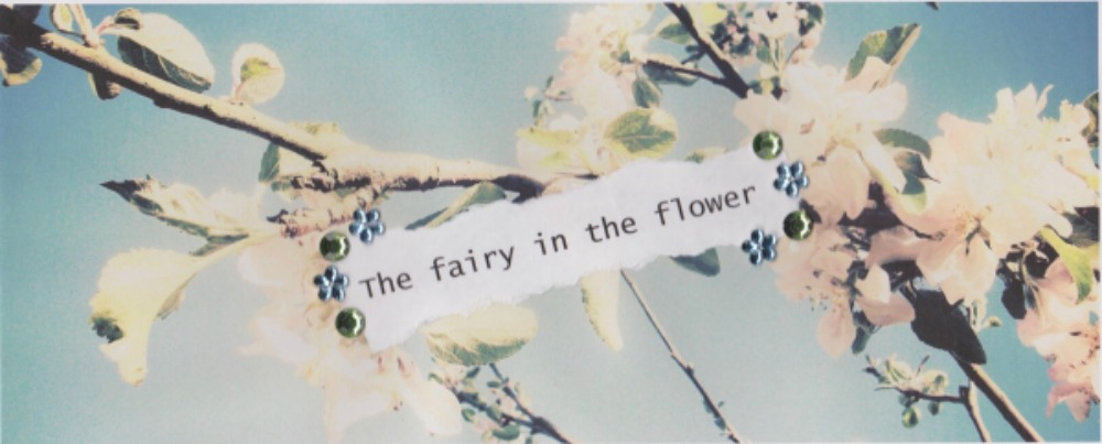 The fairy in the flower