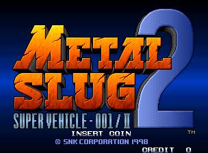Metal Slug 2 - ROM M.A.M.E. (Fliperama)