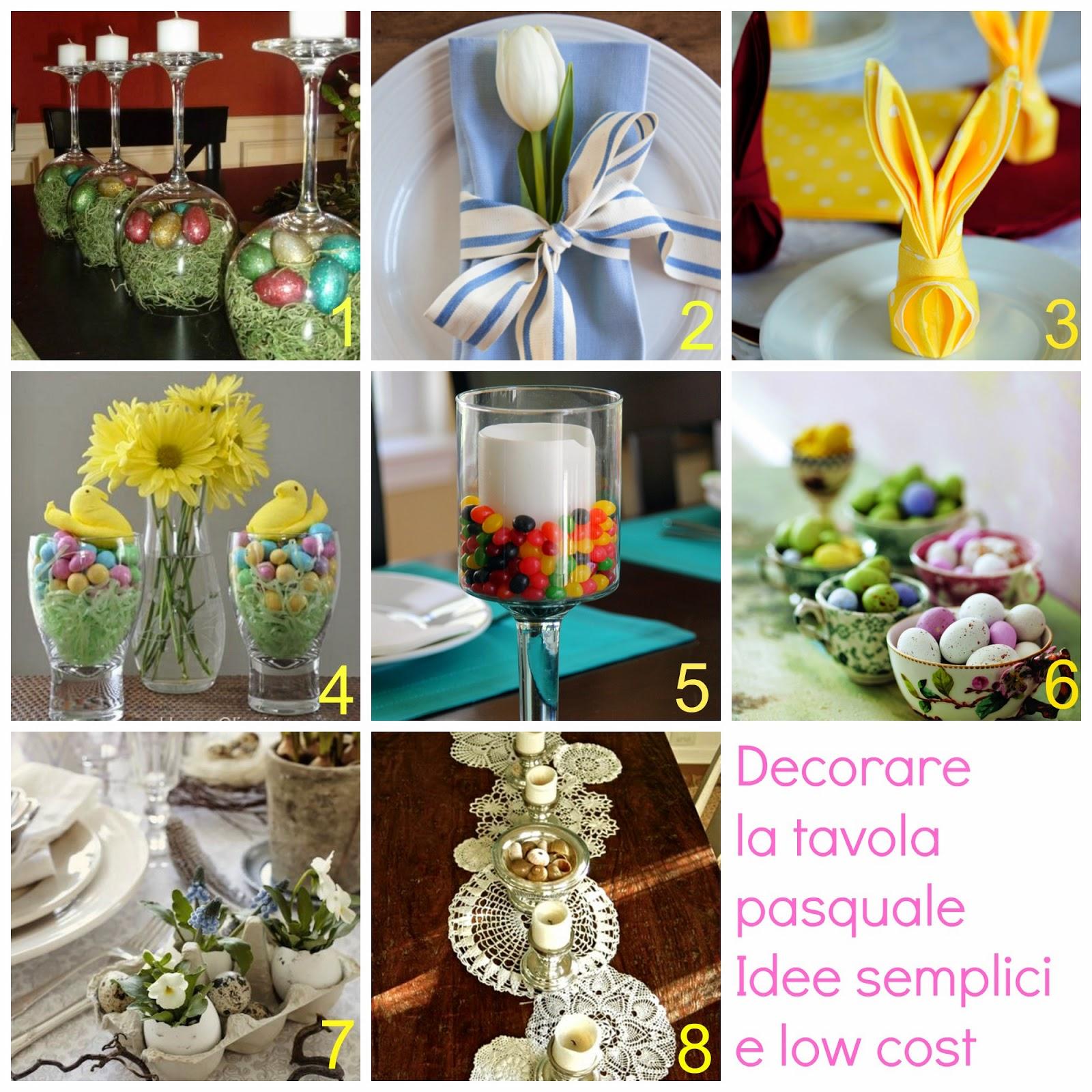 Come decorare e addobbare la tavola pasquale donneinpink magazine - Centro tavola per pasqua ...