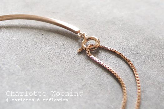 Bracelet jonc Charlotte Wooning