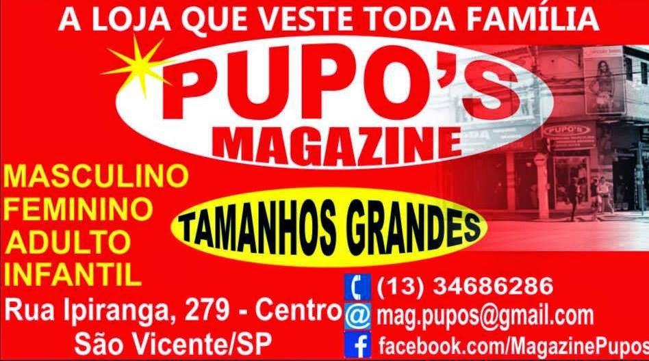 Patrocinio  Magazine Pupo's