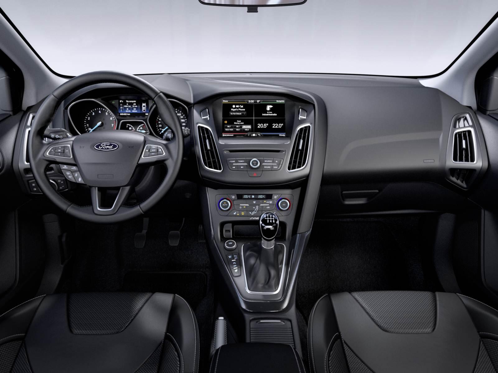 Novo Ford Focus 2015 - interior - painel