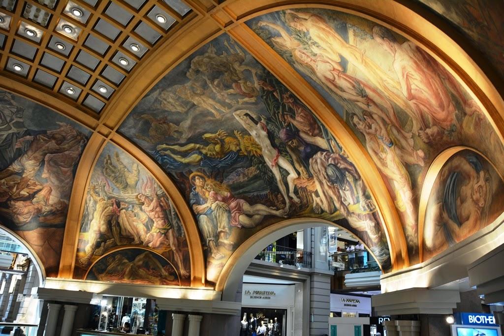 Galerias Pacifico Buenos Aires dome