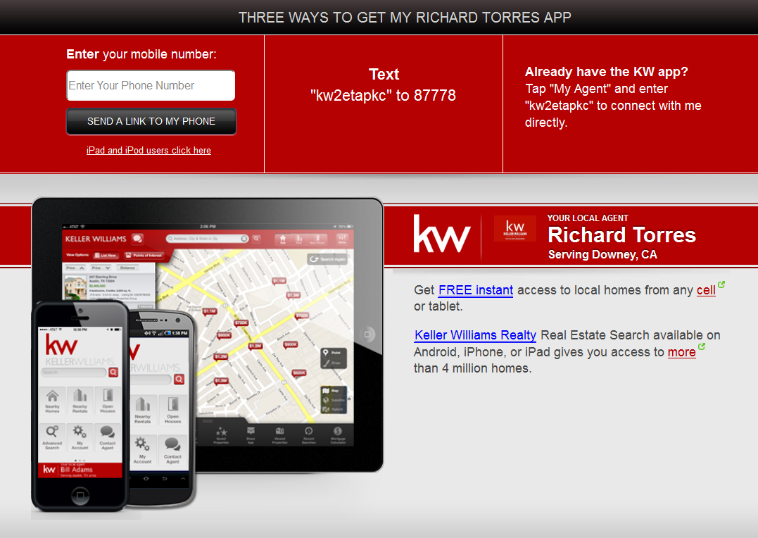 My KW Mobile App