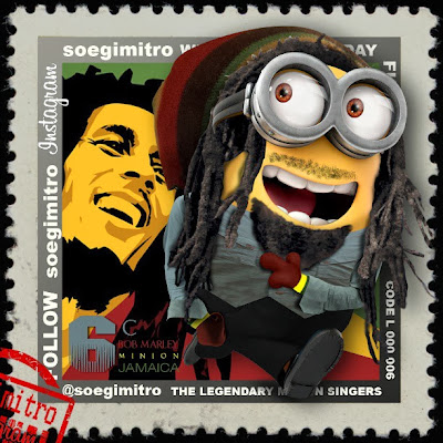 Bob Marley Minion - Musica Parodia
