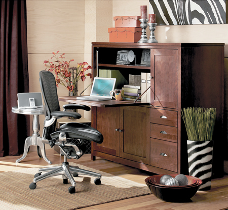 Home Office Design Ideas on Decoration  Modern Technology   Modern Home Office Decorating Ideas