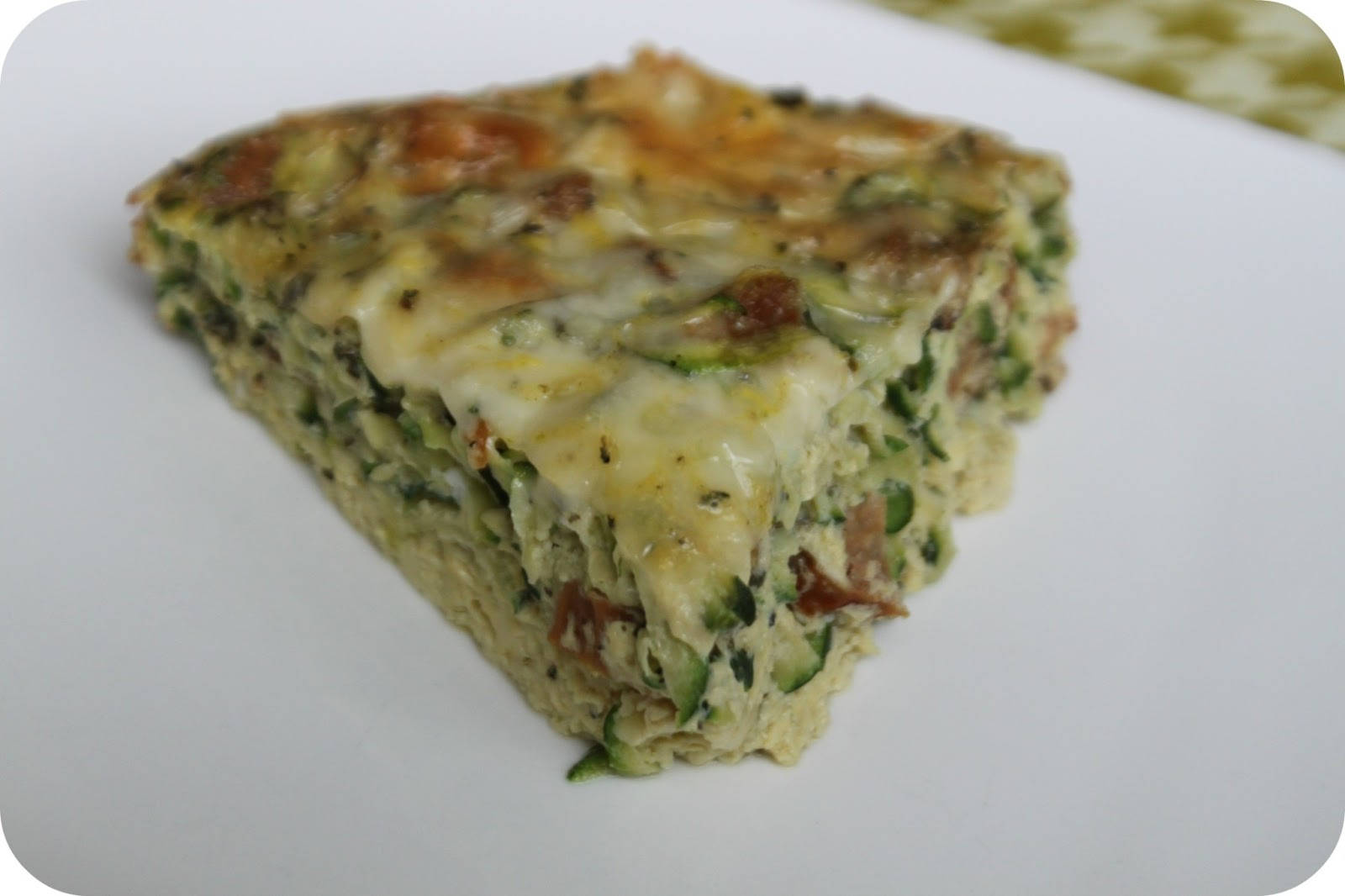 ... Clean and Wheat-Free Zucchini and Lean Italian Turkey Sausage Frittata