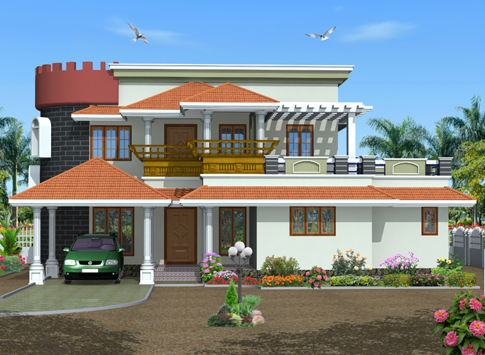 Green Homes Unique Style Kerala Home Design48 SqFeet Mesmerizing Green Homes Designs Style