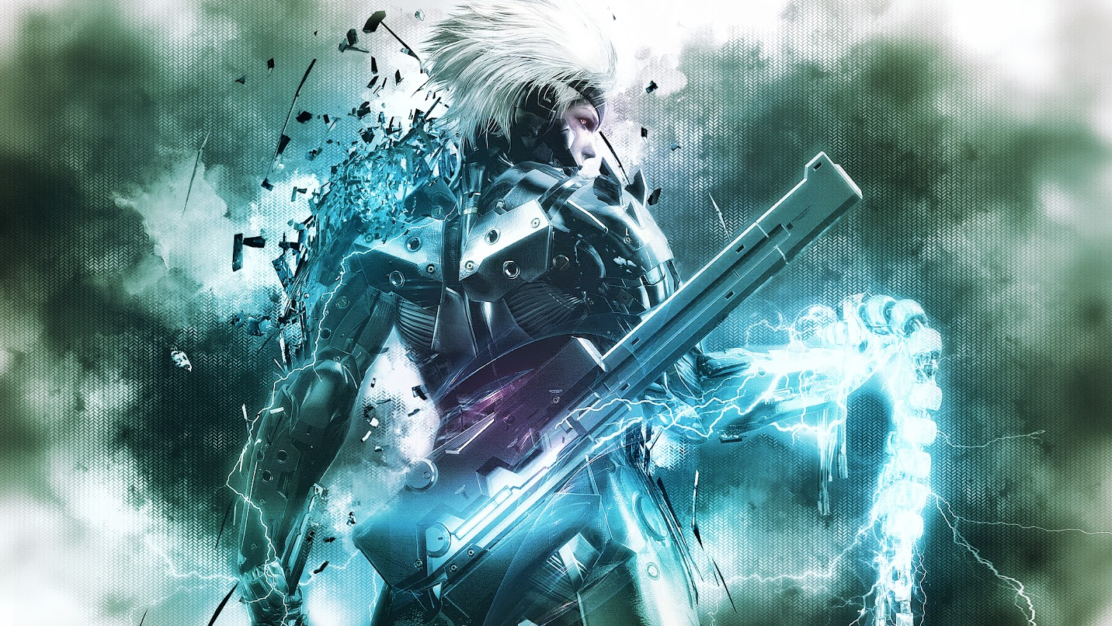 metal gear rising   raiden wallpaper by syan jin d4nxl5t Metal Gear Rising: Revengeance Wallpapers in HD