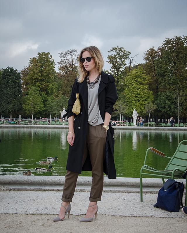Tuileries Gardens Fashion Week