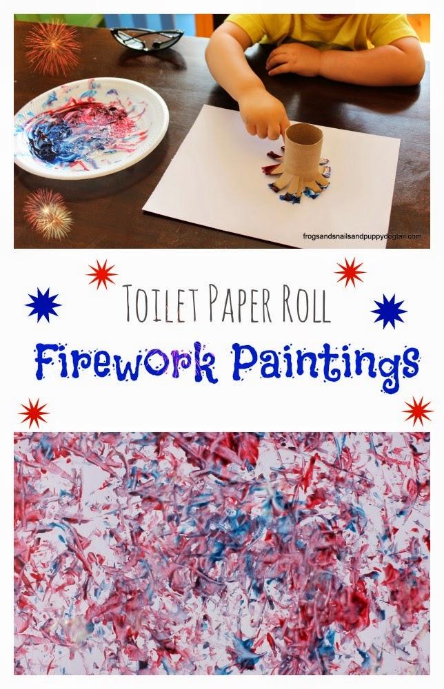 http://www.frogsandsnailsandpuppydogtail.com/2014/05/toilet-paper-roll-firework-paintings.html