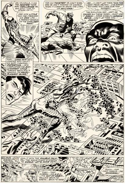 Artist's Showcase: Jim Steranko