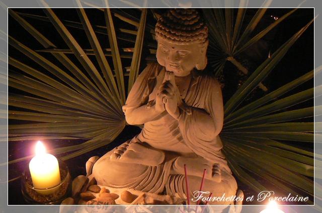 Fourchettes et porcelaine table zen - Zen de passage ...