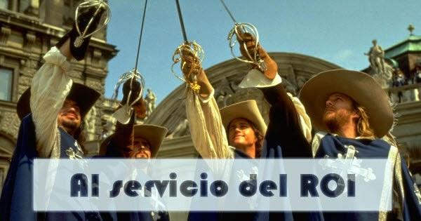 Los 3 mosqueteros y d'artagnan (1993)