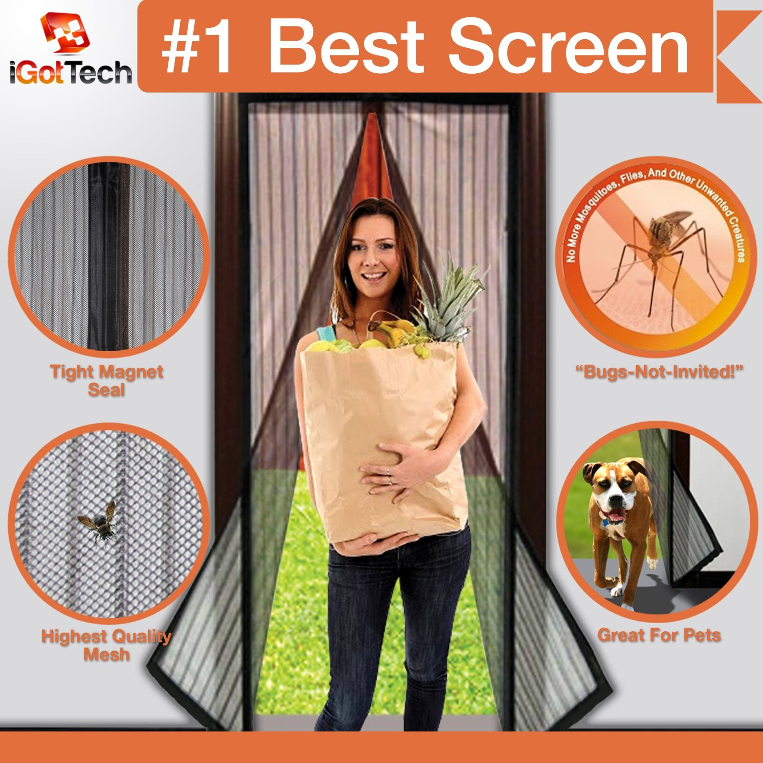 Magnetic Screen Door - iGotTech Review