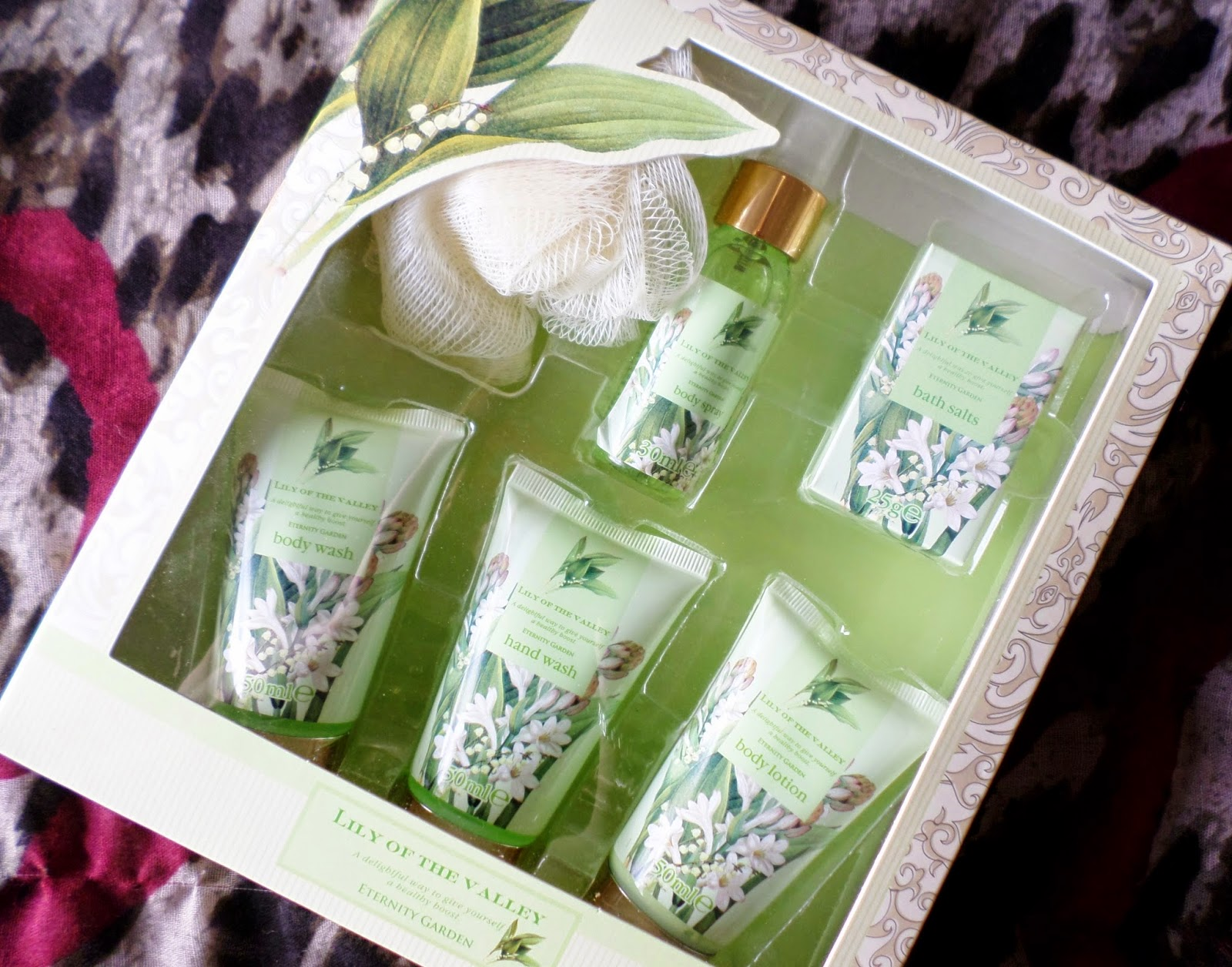 Layering Scents_Lily of the Valley Kleeneze Gift Set