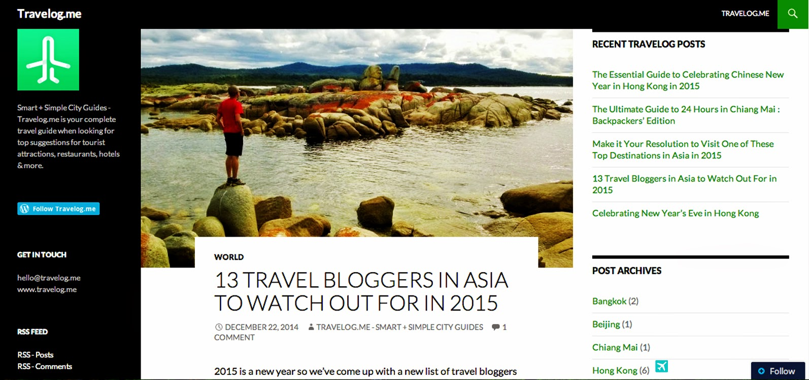 13 Travel Bloggers in Asia To Watch Out For in 2015
