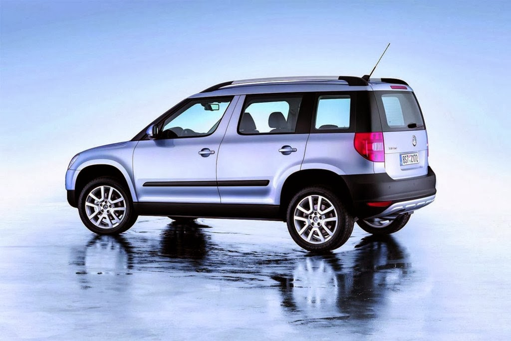 Skoda Yeti Cool Compact SUV Photos