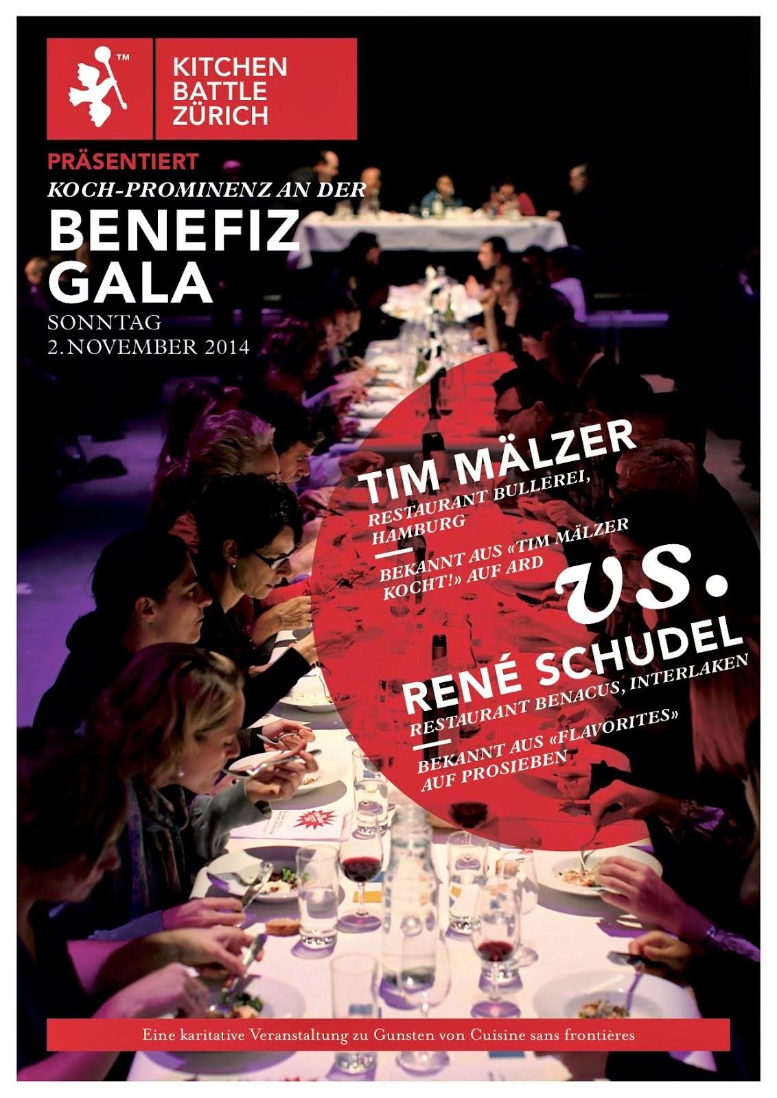 Benefiz Gala mit René Schudel vs. Tim Mälzer