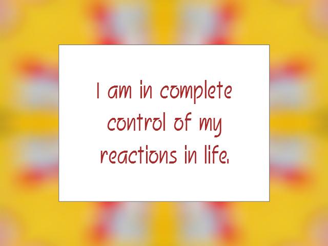 EMOTION affirmation