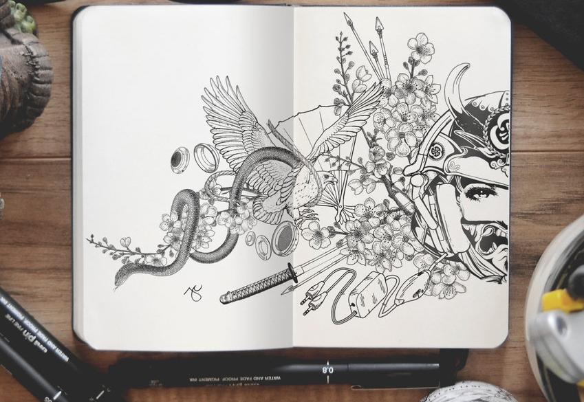 13-Kotodama-Joseph-Catimbang-Pentasticarts-Metaphysical-and-Surreal-Doodle-Drawings-www-designstack-co