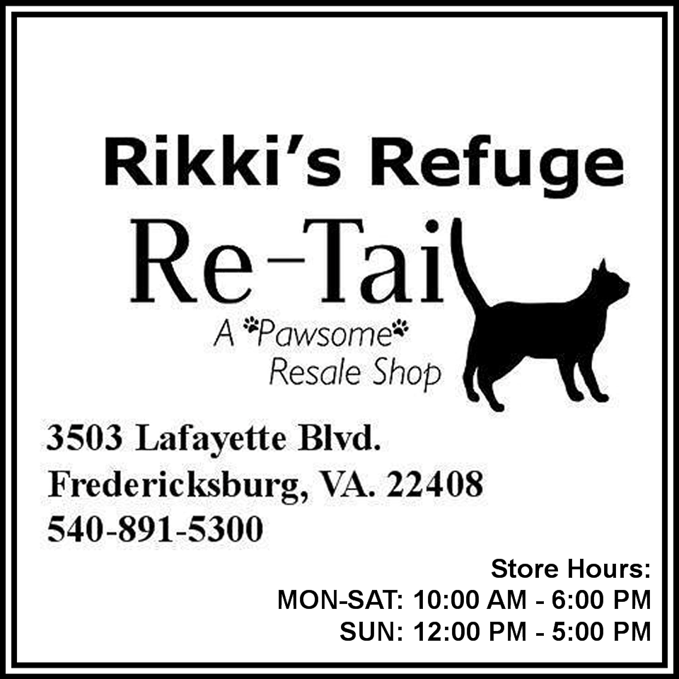 Rikki's Refuge Re-Tail