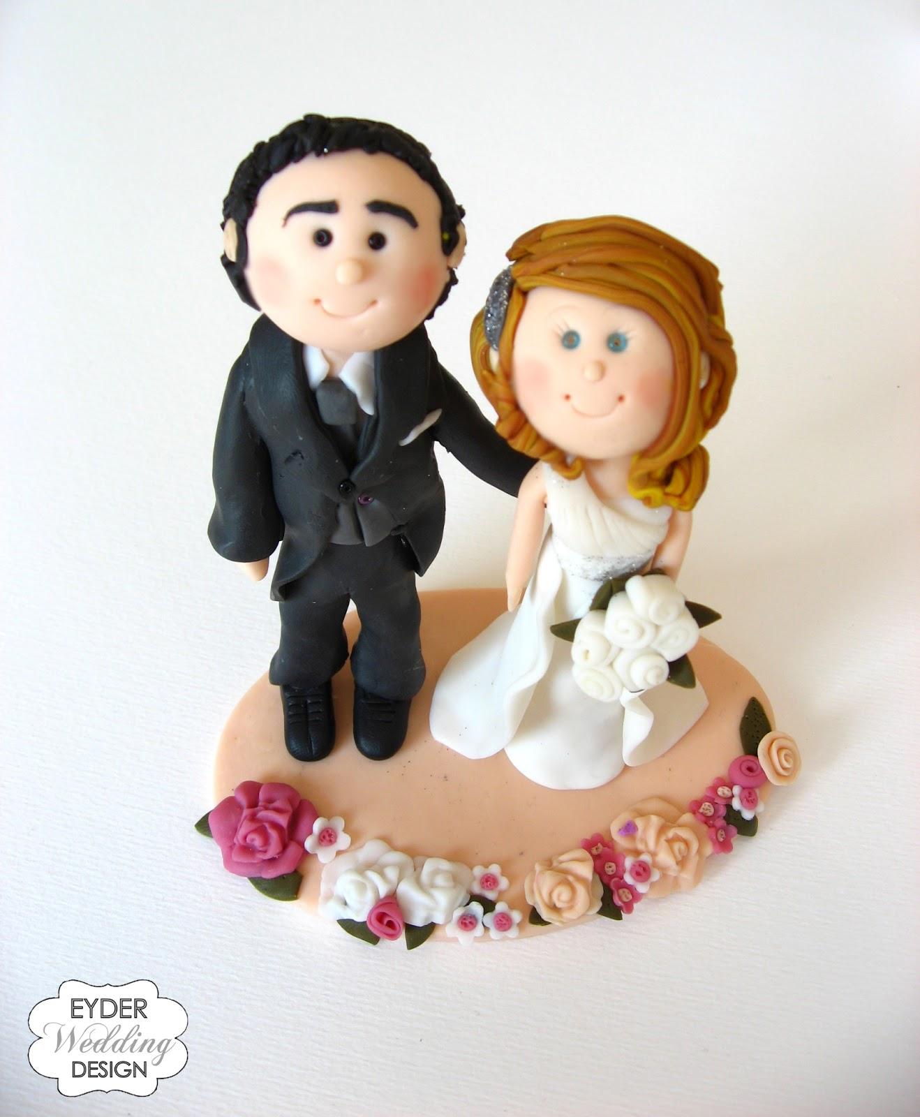 Download image Caketopper Personalizzato Sposa Con Abito Monospalla PC ...