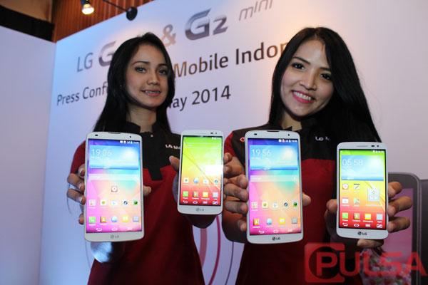 LG G Pro 2 dan G2 Mini Resmi Hadir Di Indonesia