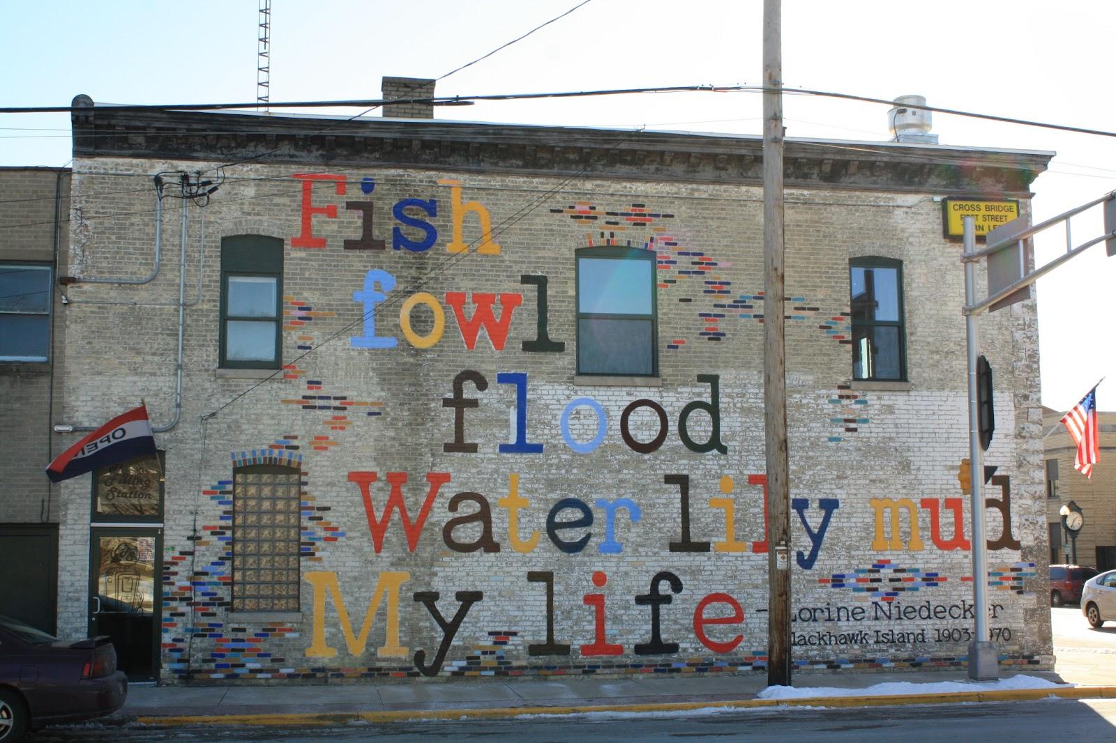 Nomadic Newfies Poetry Wall