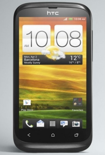 htc desire v display