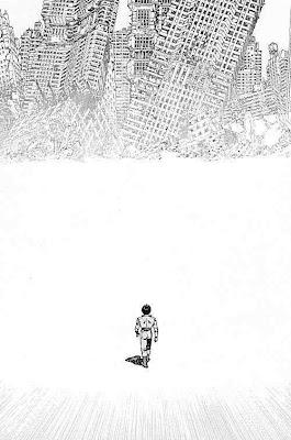 katsuhiro otomo akira pen drawing bw manga