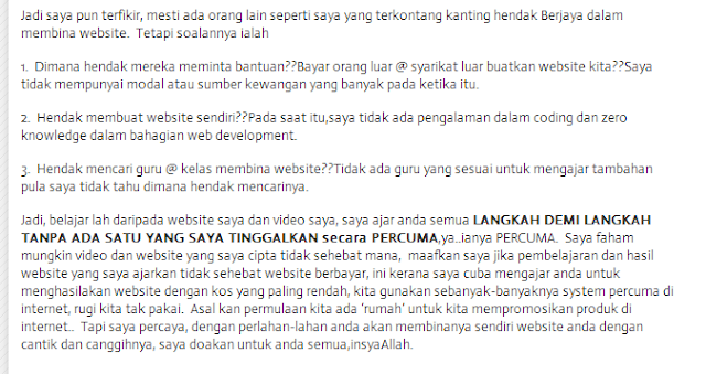 review,promo,cikmun,cara buat website, cara mudah buat website,tutorial buat website, step by step buat website,