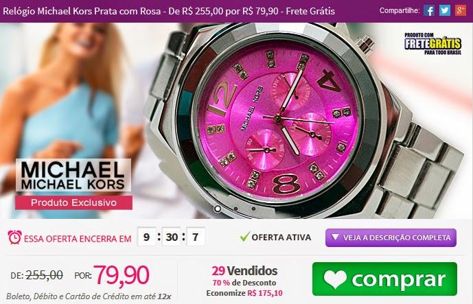 http://www.tpmdeofertas.com.br/Oferta-Relogio-Michael-Kors-Prata-com-Rosa---De-R-25500-por-R-7990---Frete-Gratis-979.aspx