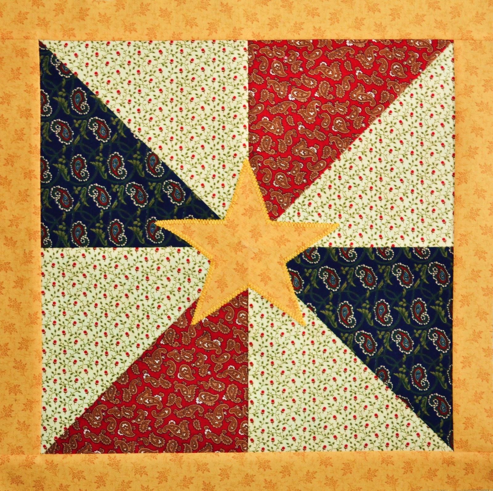 Chock-A-Block Quilt Blocks: Shouting Yankee Doodle