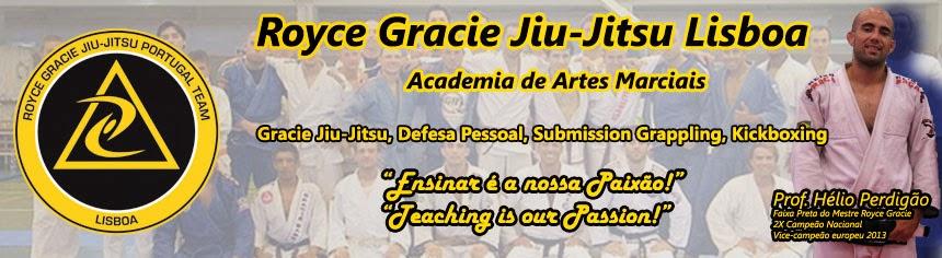 Royce Gracie Brazilian Jiu-Jitsu Lisboa  Defesa Pessoal Grappling MMA BJJ crianças