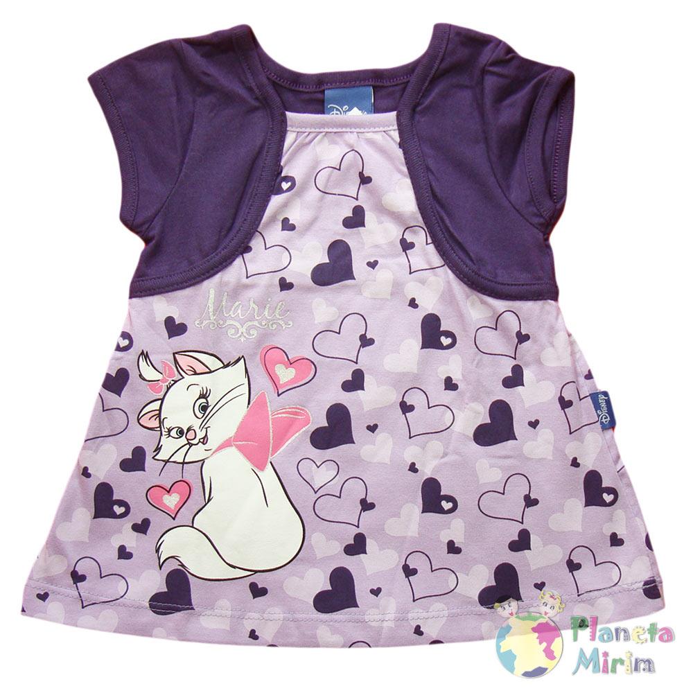 lindo vestido para bebê da gatinha marie, sua bebê vai ficar ainda mais linda nele