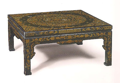The devoted classicist cragwood furnishings for Table th td tf