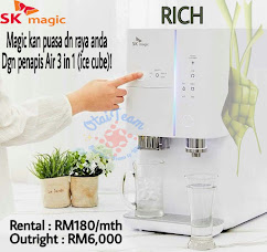 Penapis Air 3 in 1 + (ice cube)