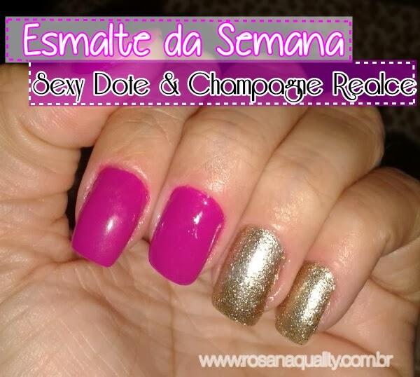 Esmalte Sexy Dote Champagne Realce