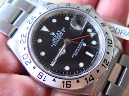 ROLEX EXPLORER II BLACK DIAL 40mm - ROLEX 16570 SERIE N YEAR 1993 - AUTOMATIC CAL 3185-FULLSET BOX