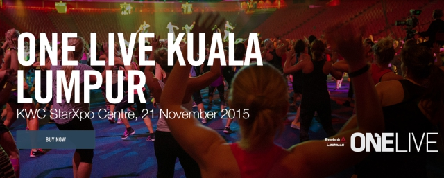 Body Combat, Body Jam, byrawlins, fitness, Hari Sukan Malaysia, health, KWC, Les Mills, Les Mills One Live, One Live KL. Kenanga Wholesale City, OneLive, Reebok, Sh'bam,